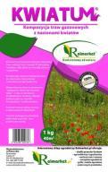 TRAWNIK KWIATOWY trawa łąka kwiatów nasiona 10kg
