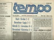 TEMPO - ROK 1989 - II PÓŁROCZE ! OPRAWIONE !