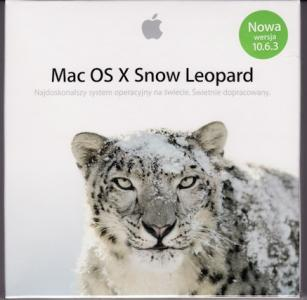 Apple Mac OS X Snow Leopard 10.6.3  MC573PL/A FVAT