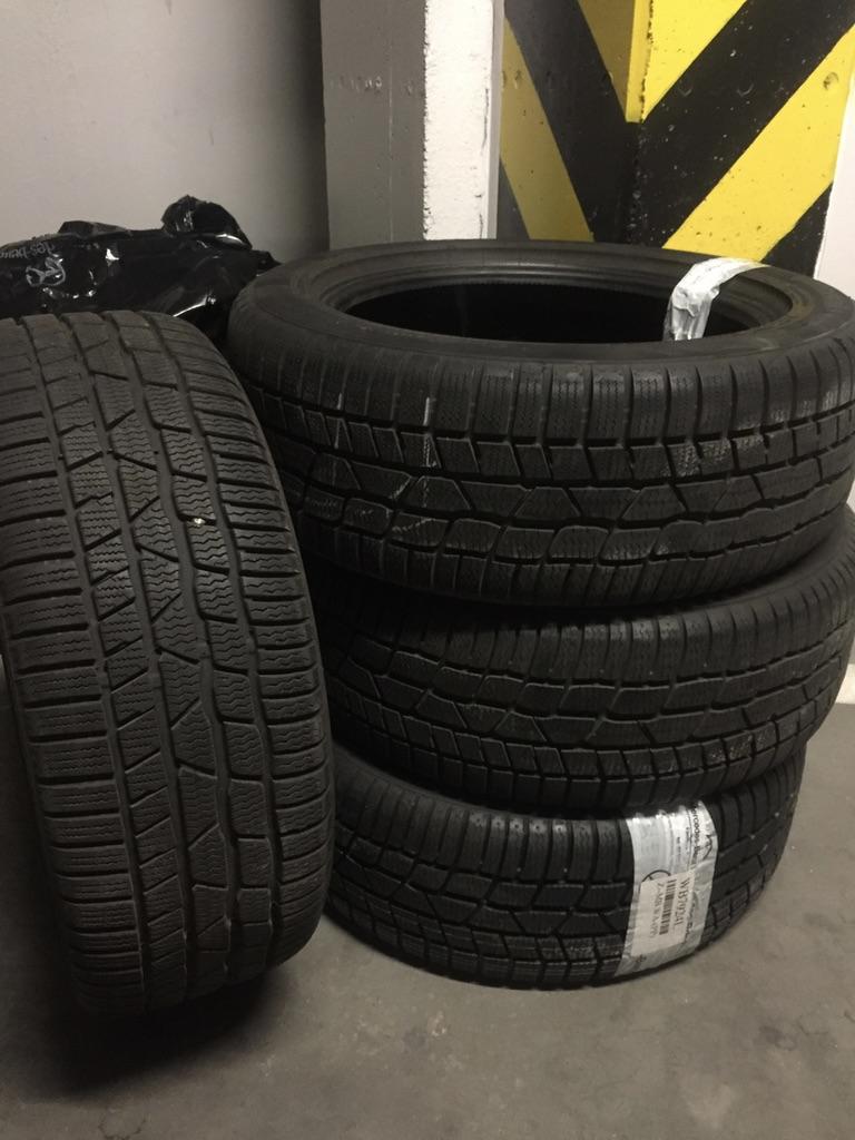 4x Opony Zimowe Continental 22550 R 17 94h 7018126888 Oficjalne