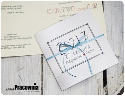 Zaproszenia ślubne Kolekcja Bridget Glamour 5978713035 Oficjalne