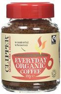 Clipper Fairtrade Rich Roast Organic Instant Coffe