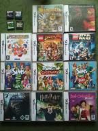 Zestaw 15 Gier Nintendo DS - 4 x Lego, 3 x Sims
