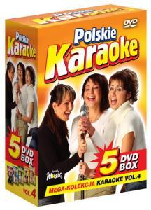 POLSKIE KARAOKE vol.4 PRZEBOJE MEGA KOLEKCJA 5xDVD