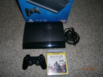 Playstation3 500GB super slim 3gry pad pudło hdmi