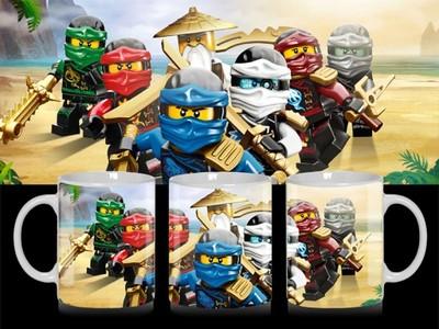 Kubek Lego Ninjago Spinjitzu Masa Wzorów 6301971375