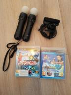 PS MOVE x2 + EYE + SPORTS CHAMPIONS + GRATIS BCM