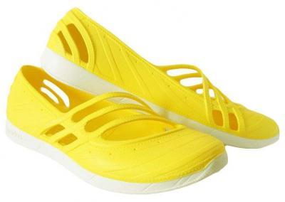ADIDAS buty baleriny DO WODY gumowe FLUO neon 39