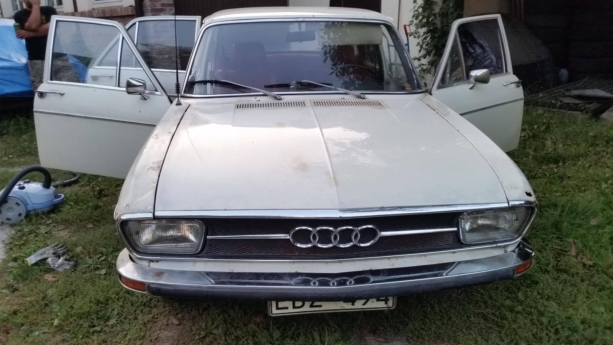 Audi 100 Ls C1 1972 Automatic 7058418295 Oficjalne Archiwum Allegro