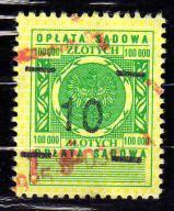 10 zł (3) - Opłata sądowa - DENOMINACJA