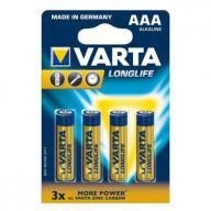 VARTA Baterie alkaliczne R3(AAA)4szt. longlife