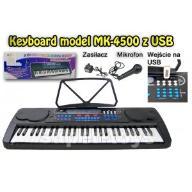 KEYBOARD, ORGANY MK-4500 Z USB + MIKROFON