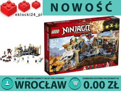Lego Ninjago 70596 Akcja W Jaskini Samuraja X 6279439524
