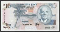 Malawi - 10 kwacha - 1994 - stan UNC
