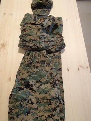 Mundur US Marines MARPAT spodnie bluza i rogatywka
