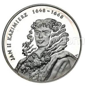 1653. 10zł 2000, Jan II Kazimierz - pop., st.L/L-
