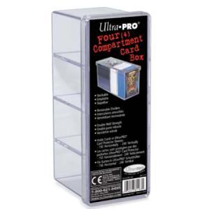 Pudełko UltraPro 4 Compartment Card Box