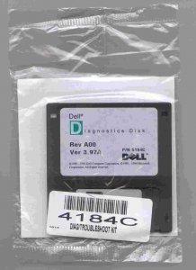 Dyskietka diagnostyczna do Dell v 3.97A