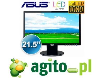 ASUS VE228T 22 FULLHD LED 5ms 10000000:1 DVI 36Gw.