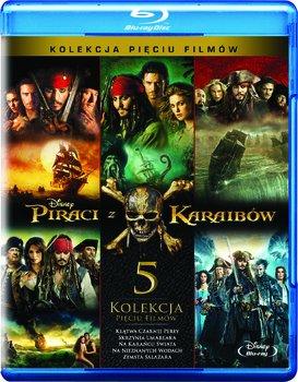 Piraci z Karaibów-kolekcja [5xBD]premiera 27.09.17