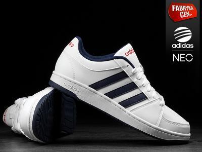 Buty męskie Adidas Hoops Vs F97782 Białe Neo Zdjęcie