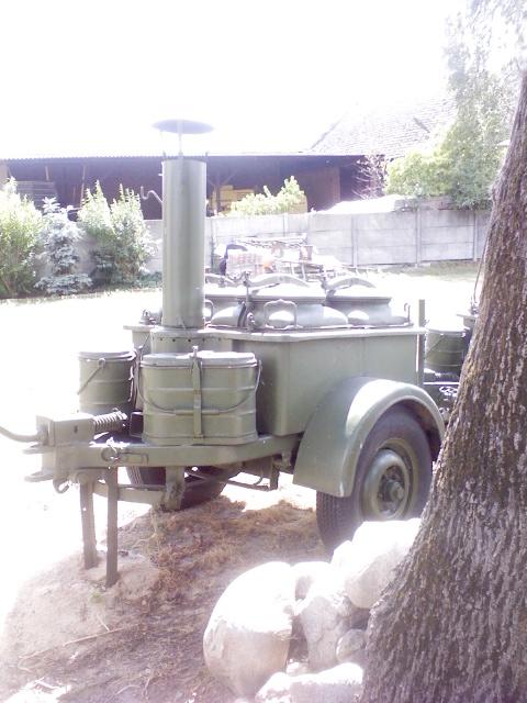 Wojskowa Kuchnia Polowa Z Wyposażeniem 7003023248