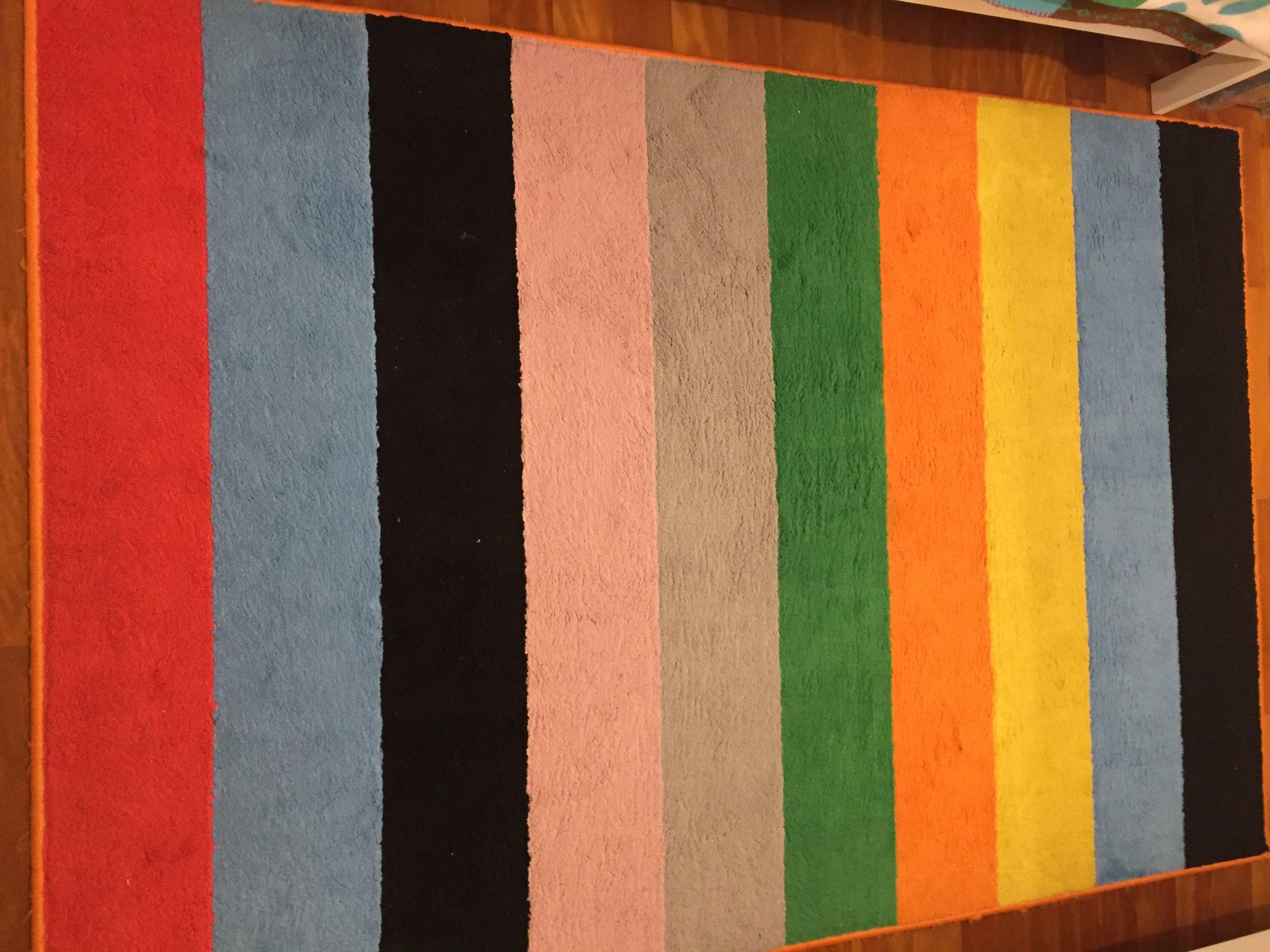 Ikea Dywan Dla Dzieci 133 X 195 Kolorowy