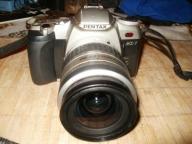 aparat PENTAX mz-7 + obiektyw pentax 28-80