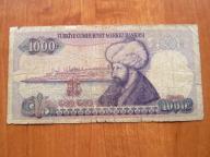 BANKNOT TURCJA 1000 LIR 1970r