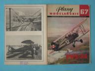 Plany Modelarskie 67 - samolot PWS -26