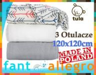 TULA OTULACZ True Aim Set 3szt. 100% wiskoza 120cm
