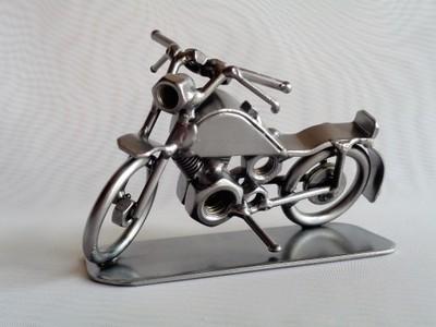 Motocykl Z Metalu Prezent Motor Garaż Dla Niego 6707139326