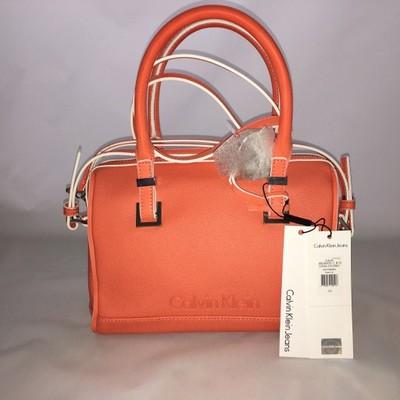 e476a71ab41da PROMOCJA CALVIN KLEIN torebka pomarańczowa - 6713244091 - oficjalne ...