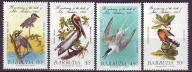 Barbuda 790-793**, 1985 r., Ptaki, 6,50E!