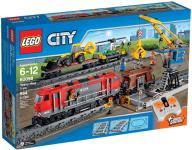 LEGO CITY 60098 CZERWONY POCIĄG TOWAROWY