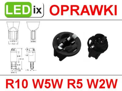 Oprawka gniazdo żarówki R10 T10 W5W R5 T5 W2W LED