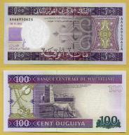 -- MAURETANIA 100 OUGUIYA 2011 AA-A P16a UNC