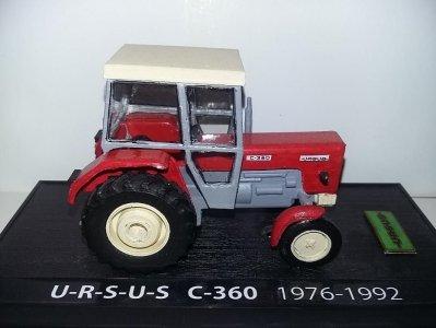 Model Ursus C 360 Skala 1 43 6560419228 Oficjalne Archiwum Allegro
