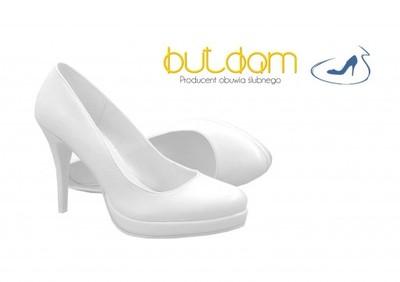 11cf761e Modne platforma buty ślubne białe-BUTDAM r.35 - 6178539100 ...