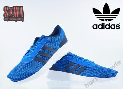 buty adidas racer lite blue