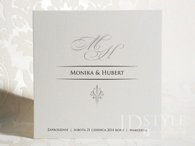 Piękne Zaproszenia ślubne Vintage Z Kopertą 6107213906 Oficjalne