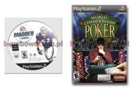 NTSC Madden NFL 2005 +World Championship Poker PS2