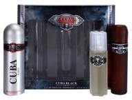 Cuba Black Men ZESTAW - EDT, DEO, AFTERSHAVE /azar