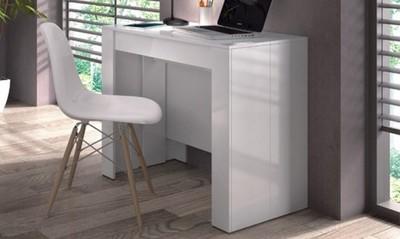 Stół Stolik Konsola Rozkładany Biały 140cm 6778222188 Oficjalne