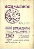 Łódzki numizmatyk 1-4 (121-124)/1976 i 1-4/1977 d8