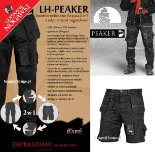 Spodnie robocze monterskie 2w1 LH PEAKER rozm: 56