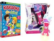 MIKROFON nagrywający + Karaoke Dla Dzieci 100 pios