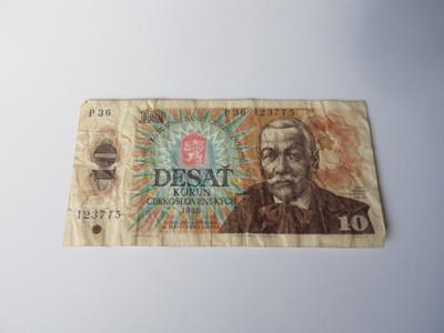 10 koron 1986 Czechosłowacja