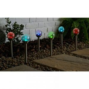 lampy ogrodowe led z szkla tuczonego 60 cm