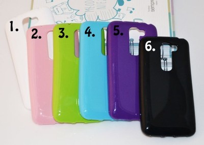 LG G2 Mini D620 Etui Solid Jelly + FOLIA RÓŻOWY ...